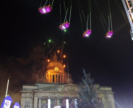 Nottingham Xmas Lights