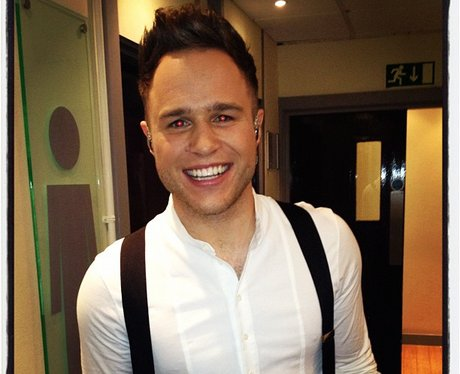 Olly Murs tweets a picture