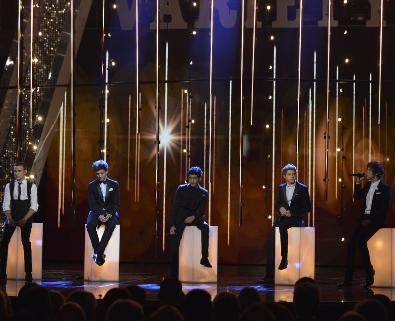 One Direction Royal Variety Performance 2012