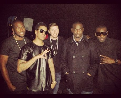Professor Green with Chipmunk and Wretch 32 and Loick