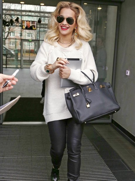 Rita Ora in Berlin