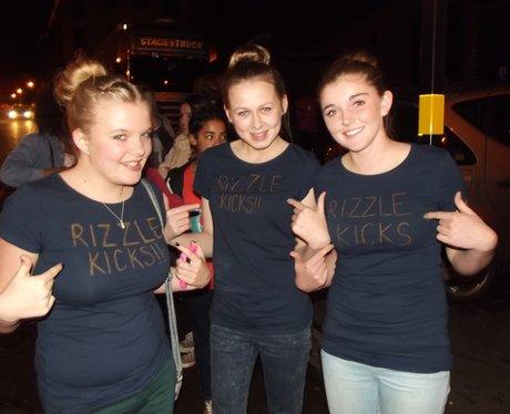 Rizzlekicks Fans at the O2 Academy.