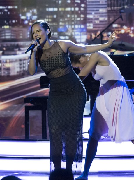 Alicia Keys Royal Variety Performance 2012