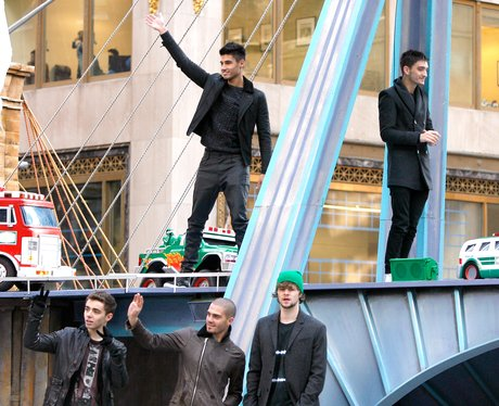The Wanted attend the 86th Annual Macy's Thanksgiv