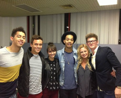 Tom Daley and Rizzle Kicks