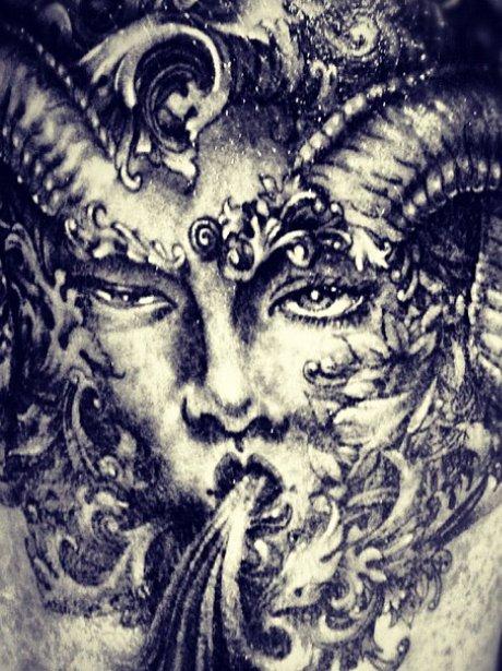 Adam Lambert's new tattoo