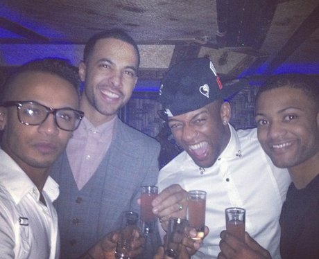 Oritse from JLS celebrates his birthday
