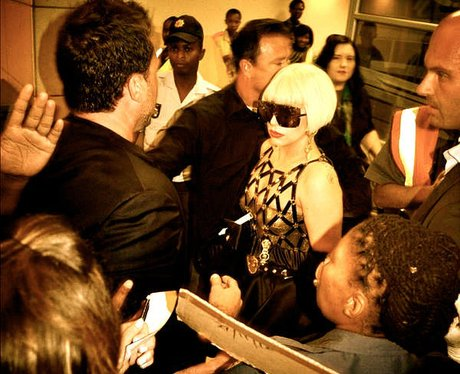 Lady Gaga in South Africa