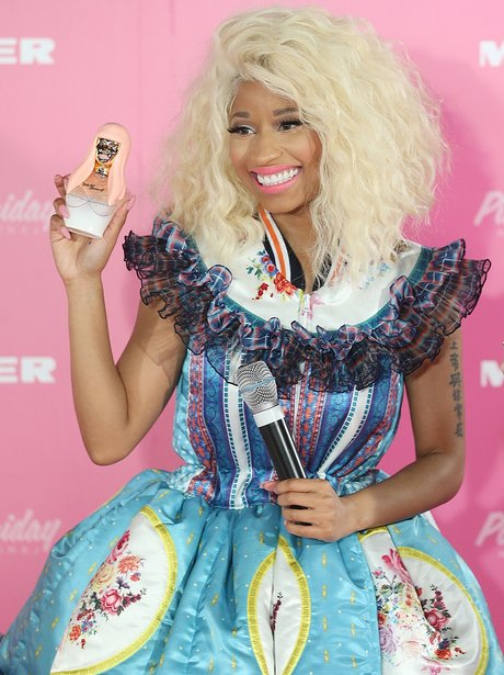 Nicki Minaj launches her new perfume in Sydney