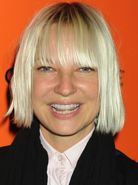 Sia at a red carpet event