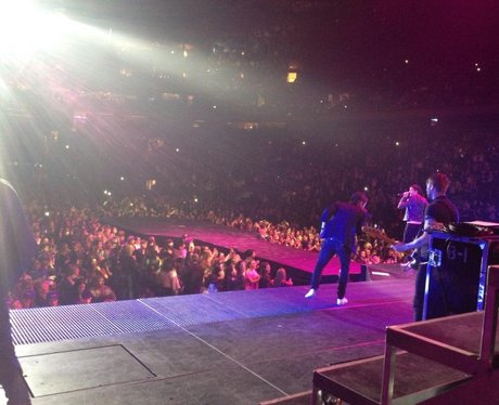 The Wanted performing in Madison Square Garden