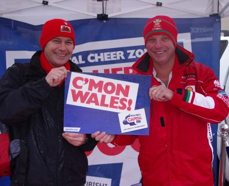 Wales Cheer Zone