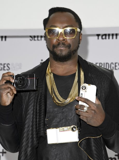 Will.i.am  launching his range of i.am+ camera accessories for the iPhone.