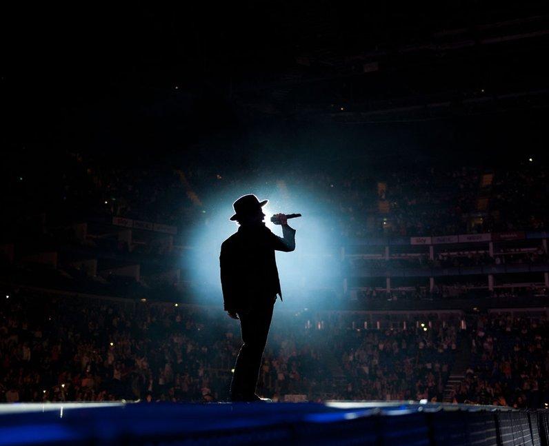 Bruno Mars at the Jingle Bell Ball 2012
