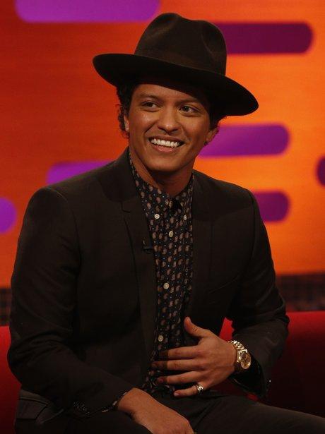 Bruno Mars on The Graham Norton Show