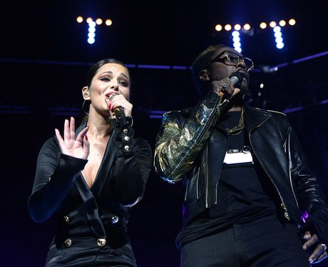 Cheryl Cole and will.i.am at the Jingle Bell Ball