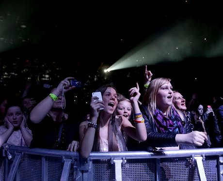 Crowds at the Jingle Bell Ball 2012