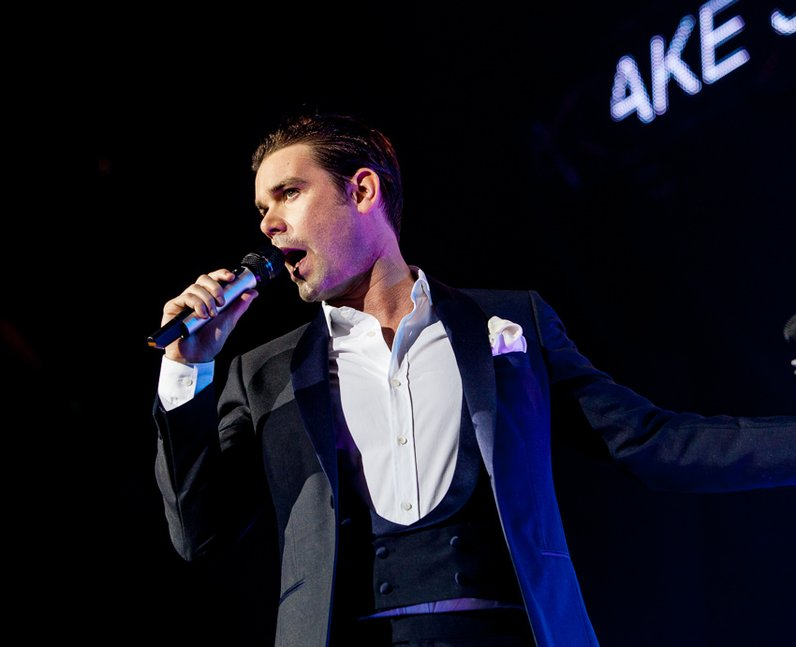 Dave Berry at the Jingle Bell Ball 2012