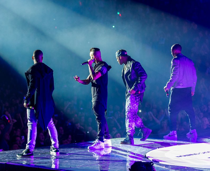 JLS at the Jingle Bell Ball 2012