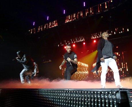 JLS At Jingle Bell Ball 2012