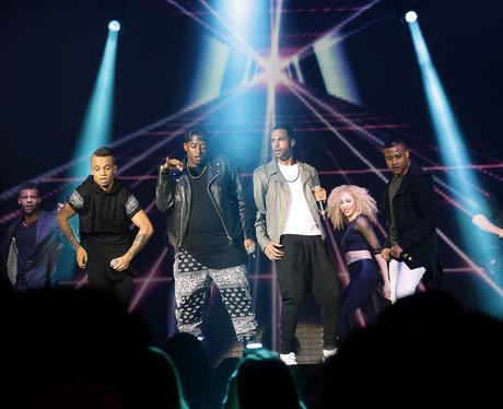 JLS At Jingle Bell Ball 2012