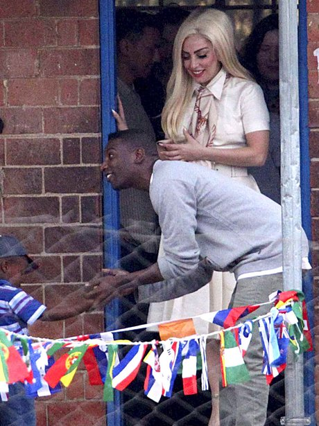 Lady Gaga in South Africa