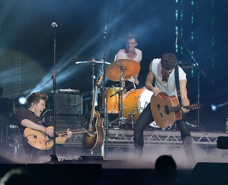 Lawson play live at the Jingle Bell Ball 2012