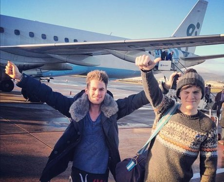 Lawson arrive in Belfast