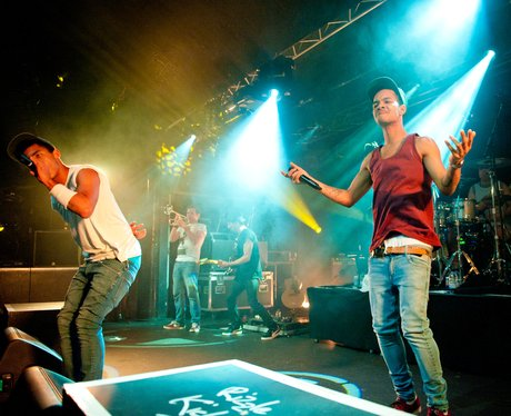 Rizzle Kicks live on stage