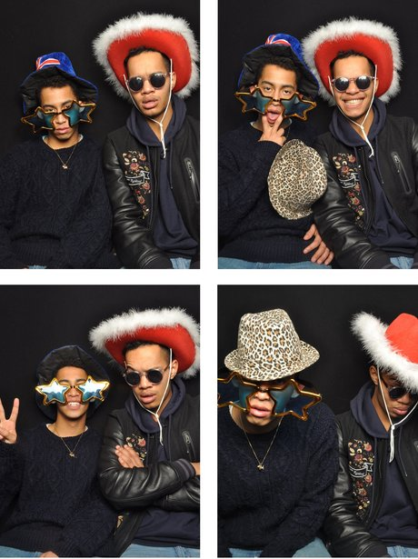 Rizzle Kicks at the Jingle Bell Ball 2012