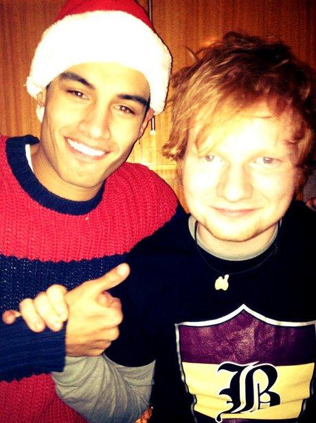 Siva and Ed Sheeran