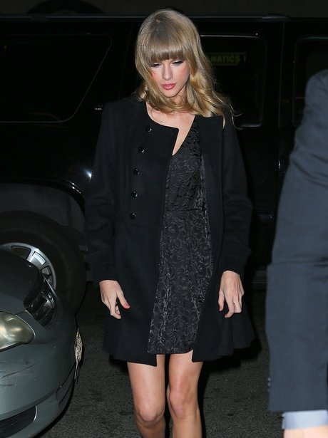 Taylor Swift at One Direction's after party