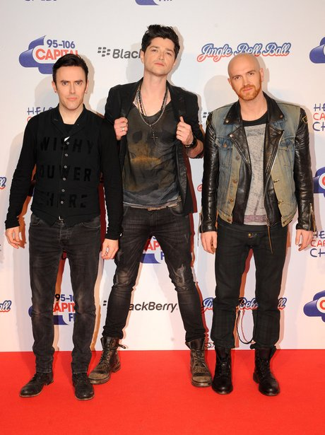 The Script at the Jingle Bell Ball 2012