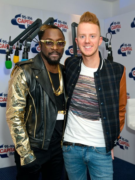 Will.i.am and James Barr at the jingle bell ball 2