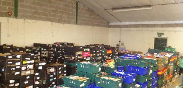 Food Bank Parcel Rise Capital Scotland