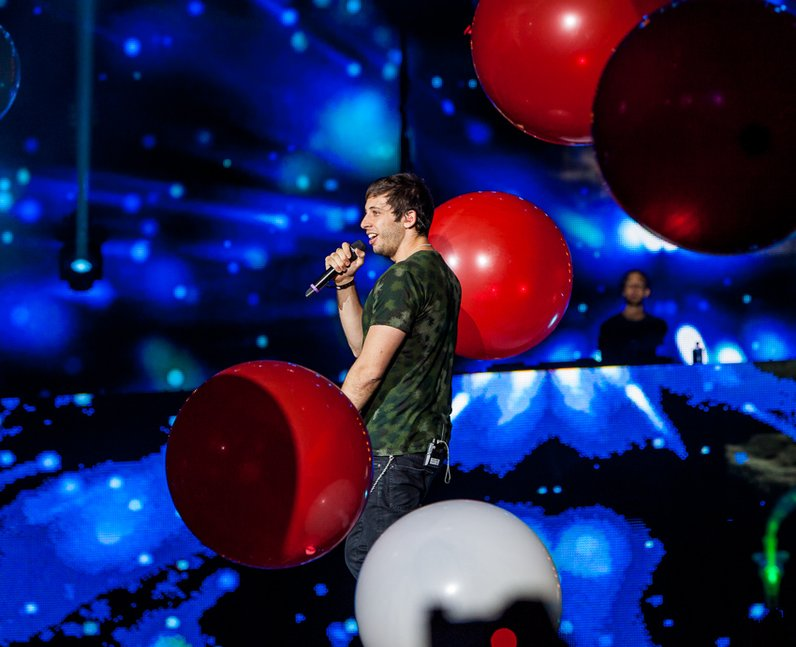 Calvin Harris at the Jingle Bell Ball 2012