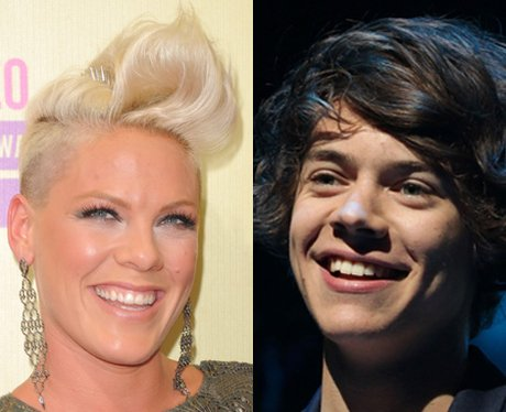 Harry Styles and Pink