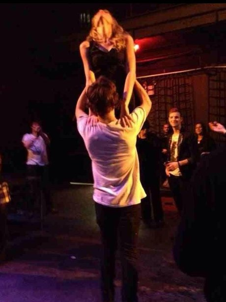 Harry Styles and Taylor Swift dance at concert afterparty