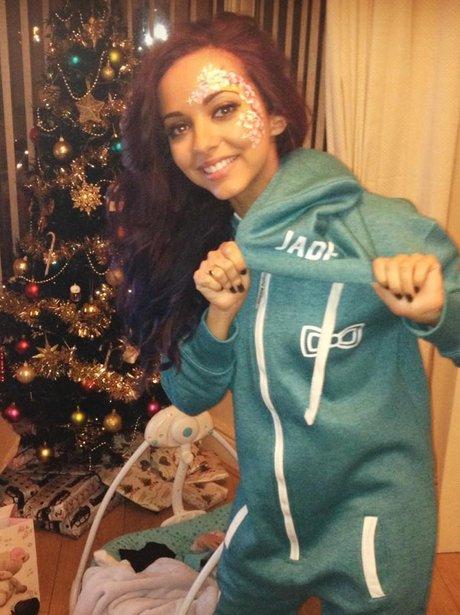 Little Mix star Jade Thirlwall in a onesie