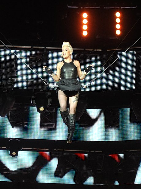 Pink At The Jingle Bell Ball 2012