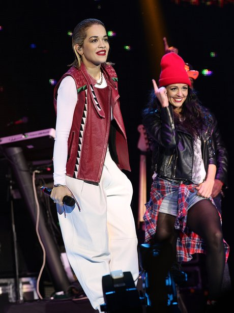 Rita Ora at the Jingle Bell Ball 2012