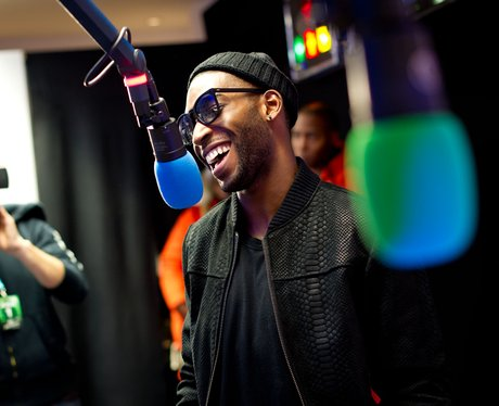 Tinie Tempah at the Jingle Bell Ball 2012