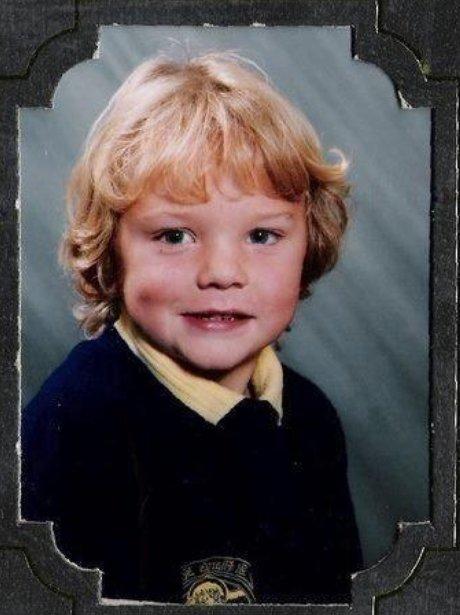 Conor Maynard as a child