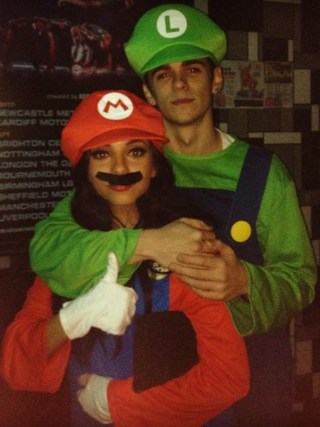 Jade From Little Mix in fancy dress