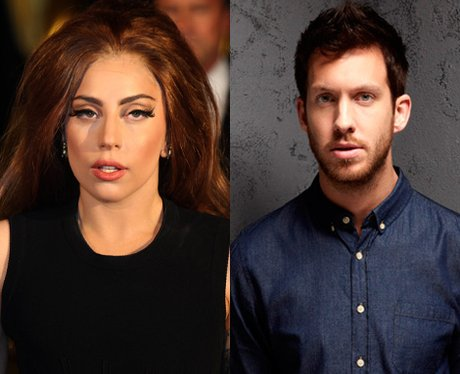 Lady Gaga and Calvin Harris