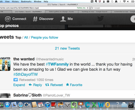 The Wanted on Twitter