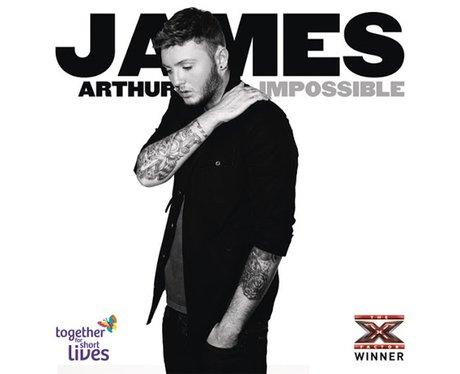 James Arthur's 'Impossible' single artwork