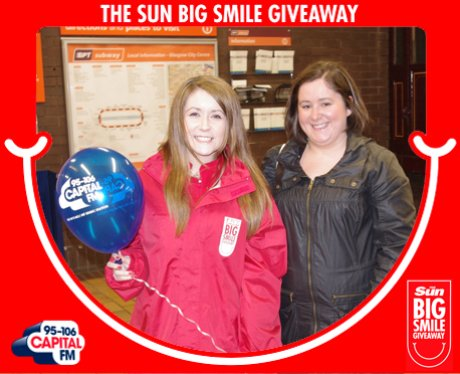 Big Smile Giveaway, Glasgow