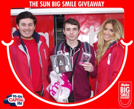 Big Smile Giveaway, Leicester