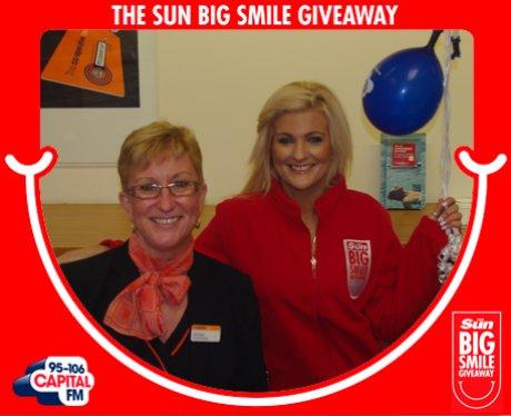 Big Smile Giveaway, Pontypridd